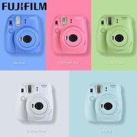Genuine 5 colors Fujifilm Instax Mini 9 Instant Film Camera fuji Photo Camera Pop up Lens Auto Metering Mini with Close up Lens