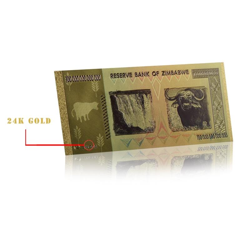 WR колоритен Зимбабве 100 трилиона - Декор за дома - Снимка 6