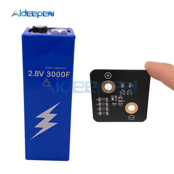Super Capacitor Farad Capacitor 2.8V 3000F 161*56*56mm Ultracapacitor Automotive Auto Power Supply With Protection Board For Car