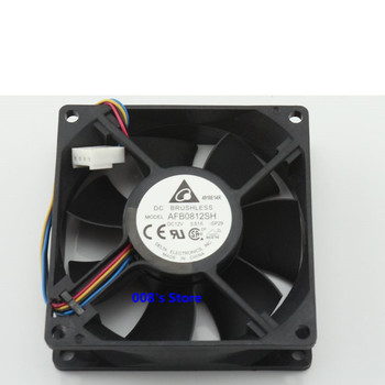 New Radiator CPU Cooler Fan For Chassis PC AFB0812SH 80*80*25mm 12V 0.51A -CP51-SP29 PWM Double Ball Bearing Air 4 Pins