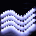 EE support  4 Pcs 15 LED 30CM Accessories Car Grill Flexible Waterproof Led Light Strip SMD 12V XY01