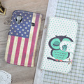 For Samsung Galaxy Ace S5830 GT-S5830 GT S5830I gt-s5830i Cover Fashion Printing Stand Wallet Case