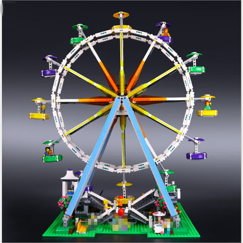 lepin 15012 lepin creator Expert legoing Creator Expert Ferris Wheel set Building Blocks Bricks Compatible legoing city 10247 dhl lepin 15012 2518pcs city expert ferris wheel model building kits blocks bricks toys compatible with legolyes 10247 toys
