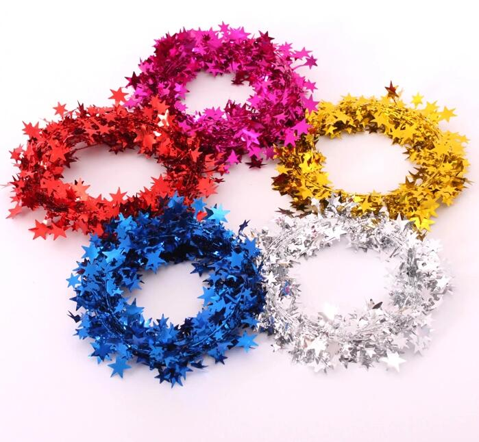 5pcs lot 7 5m weding decoration party use christmas decorations - Christmas Decorations Names