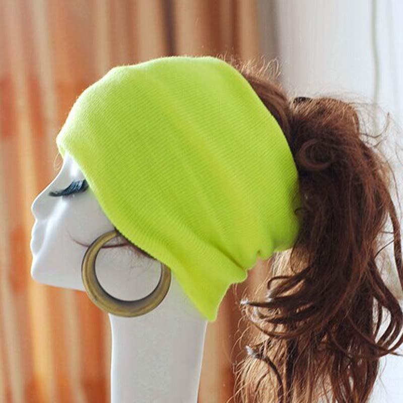 7003 κορεατική έκδοση μόδας καπέλα αντρικά καπέλα χειμώνα για τις γυναίκες πλεκτά καπέλα skullies Beanies φθινόπωρο μαλλιά μπάντα 10 χρώματα χονδρικής