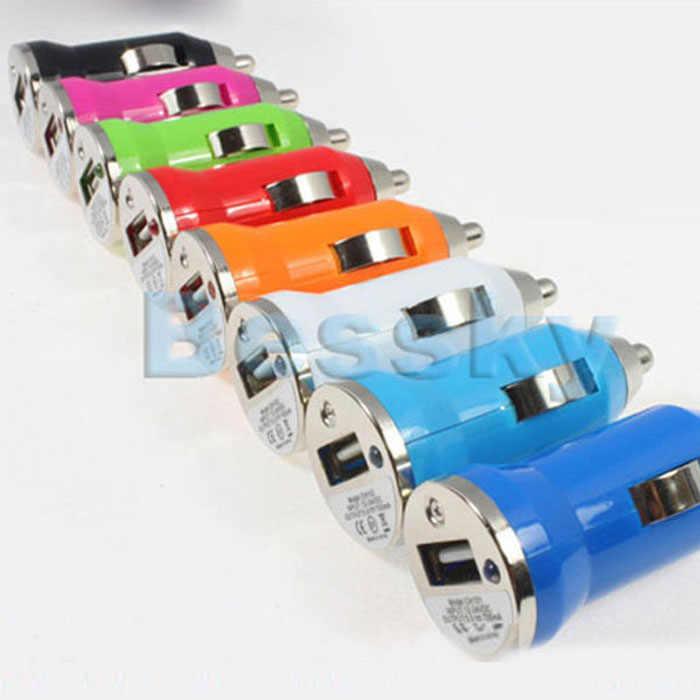 الجملة usb شاحن سيارة محول لآبل آي بود نانو مصغرة mp4 mp3 pda اكسسوارات السيارات التصميم سيارة للجميع العالمي سيارات