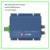 Aluminio shell receptor óptico de FTTH/catv nodo óptico precio salida de 2 puertos SC/APC GEPON AGC ATT de triple play red