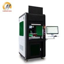 50 Вт 3D волоконная лазерная маркировочная машина для металлической гравировки ювелирных изделий золото серебро маркировка