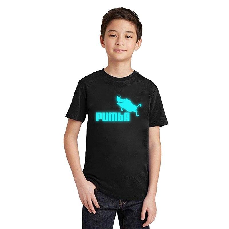 LYTLM Toddler Tops Shirt Girl Lion King PUMBA Kids The MATATA Camiseta HAKUNA
