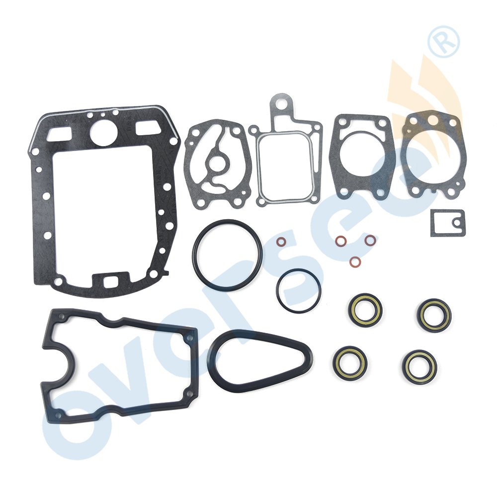 6A0-W0001 Upper Casing and Lower Casking Gasket Kit for <font><b>Yamaha</b></font> 2T <font><b>Outboard</b></font> <font><b>Motor</b></font> <font><b>2HP</b></font> 6A0-W0001-22 6A0-W0001-21 image