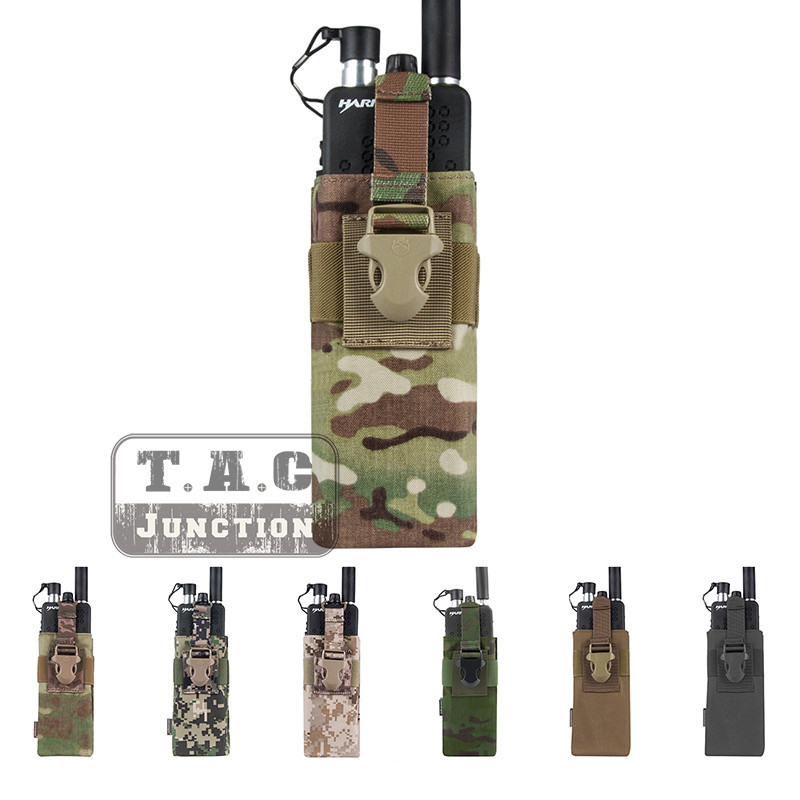 Image 5 - Emerson Tactical Radio Pouch for  MBITR PRC148 152 with Molle Strap EM8336 EMERSONGEAR MOLLE Radio Pouch for JPC,AVS.CPC Vest-in Pouches from Sports & Entertainment