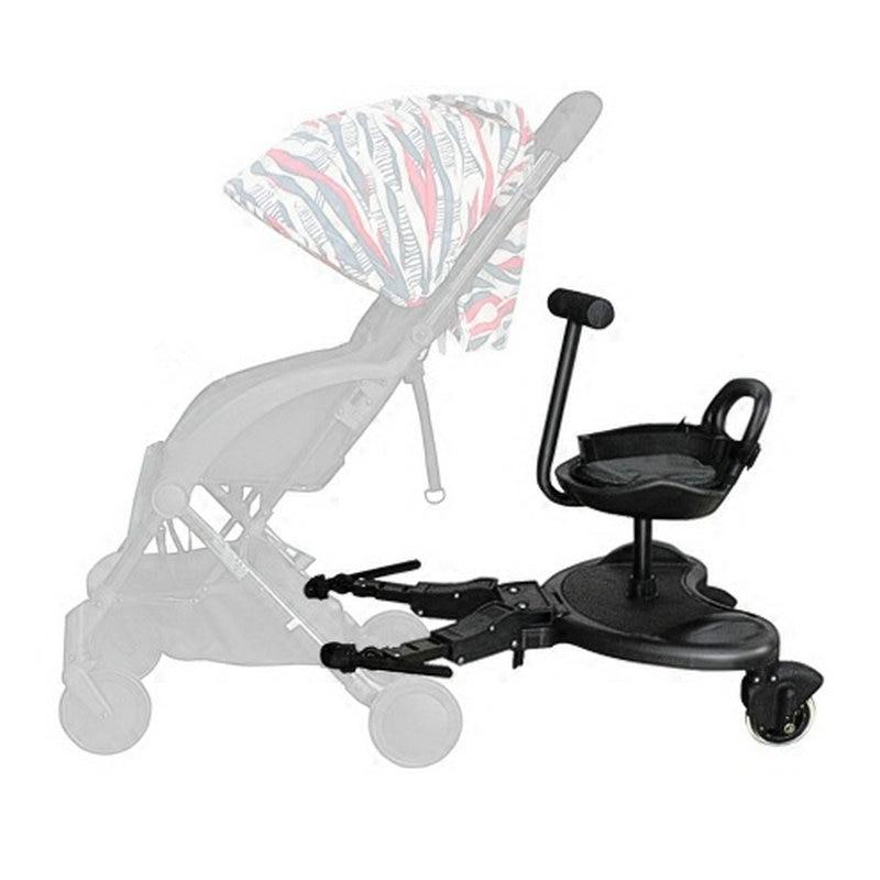 carrinho de bebe pedal auxiliar segundo artefato reboque crianca carrinho de bebe pedal de ligacao para