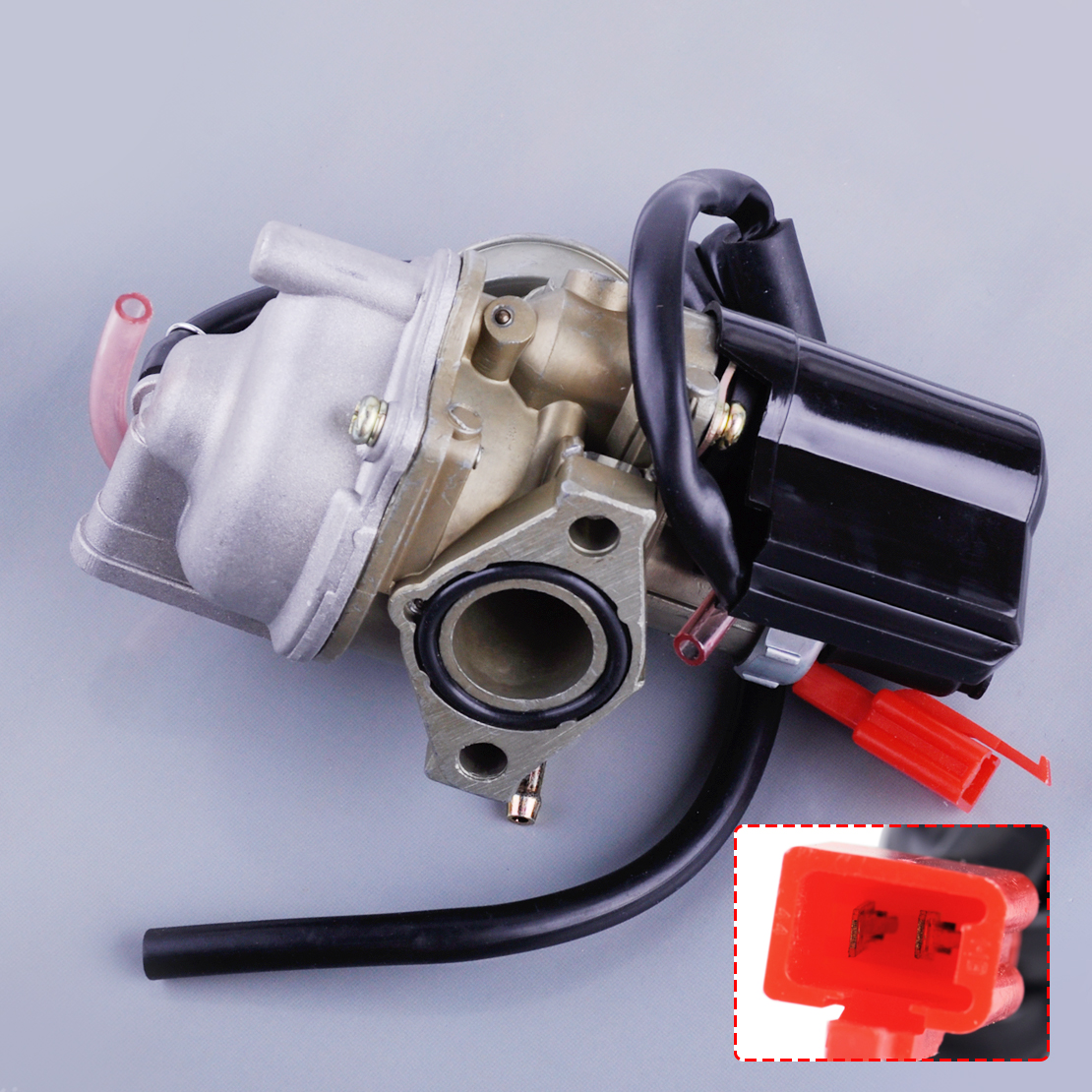 US $25 19 30% OFF|beler 19mm Carburetor Carb Fit for Honda 2 Stroke 50cc  Dio 50 ZX34 35 SYM Kymco Scooter-in Carburetors from Automobiles &