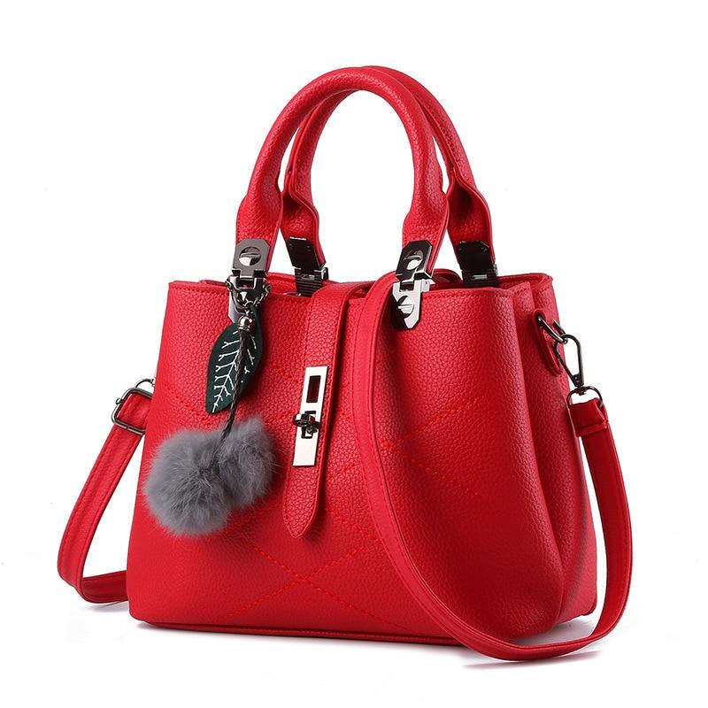 Qadınlar üçün çanta dəri çantaları 2018 qadın moda - Çantalar - Fotoqrafiya 2