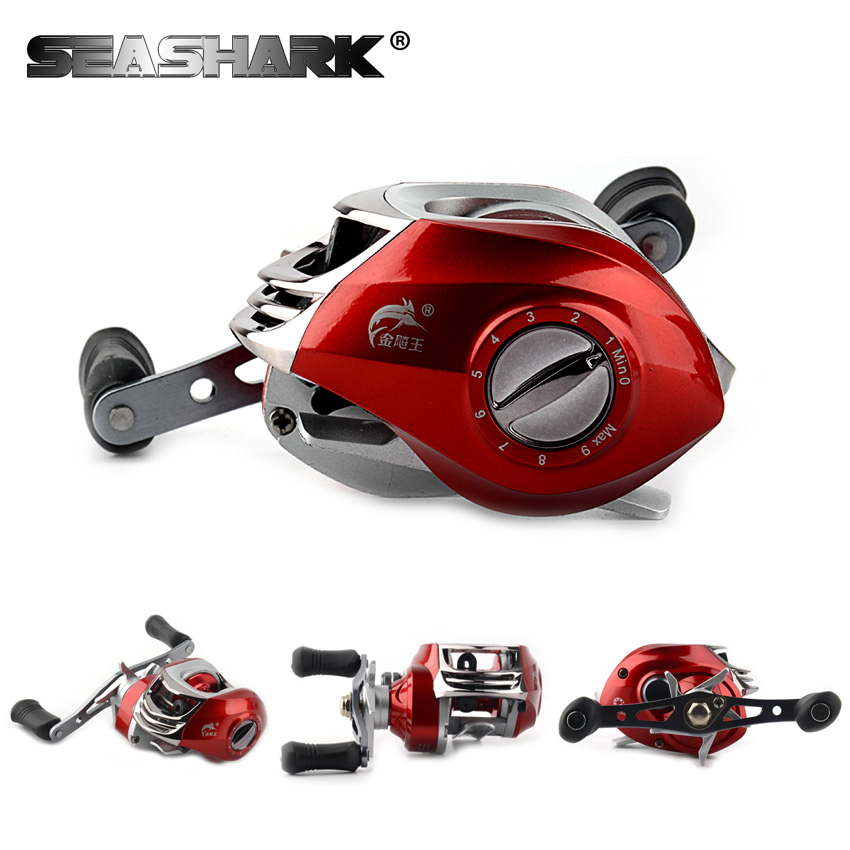 SEASHARK 18 BB Saltwater Wheel Left and Right Hand Bait Casting Fishing Reel Bait cast Reel Sea Bait casting Fishing Reel