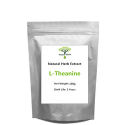Best Quality Natural 99% Powder L-Theanine 100g~1000g