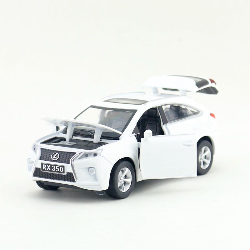 3pcs/lot Wholesale Brand New YJ 1/32 Scale Car Model Toys JAPAN LEXUS RX350 SUV Sound&Light Diecast Metal Car Model Toy ...