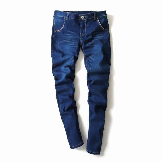 ecac2731a1 2018 nuevos pantalones vaqueros para hombre