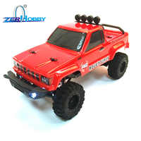 RGT Rc Auto 1/24 136240 Skala 4wd Off Road Rc Crawler 4x4 Lipo mini Monster Truck RTR Rock crawler Mit Lichter