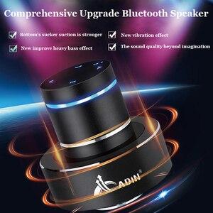 Image 3 - Adin 金属 26 10w 振動 bluetooth スピーカー nfc タッチハイファイサブウーファーワイヤレススピーカー 360 ステレオ超低音スピーカー