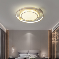 Современный потолочный светильник обеденный светодиодный Кристалл Потолочный светильник хрустальный лампы для гостиная Лофт AC110 240V DIY кри