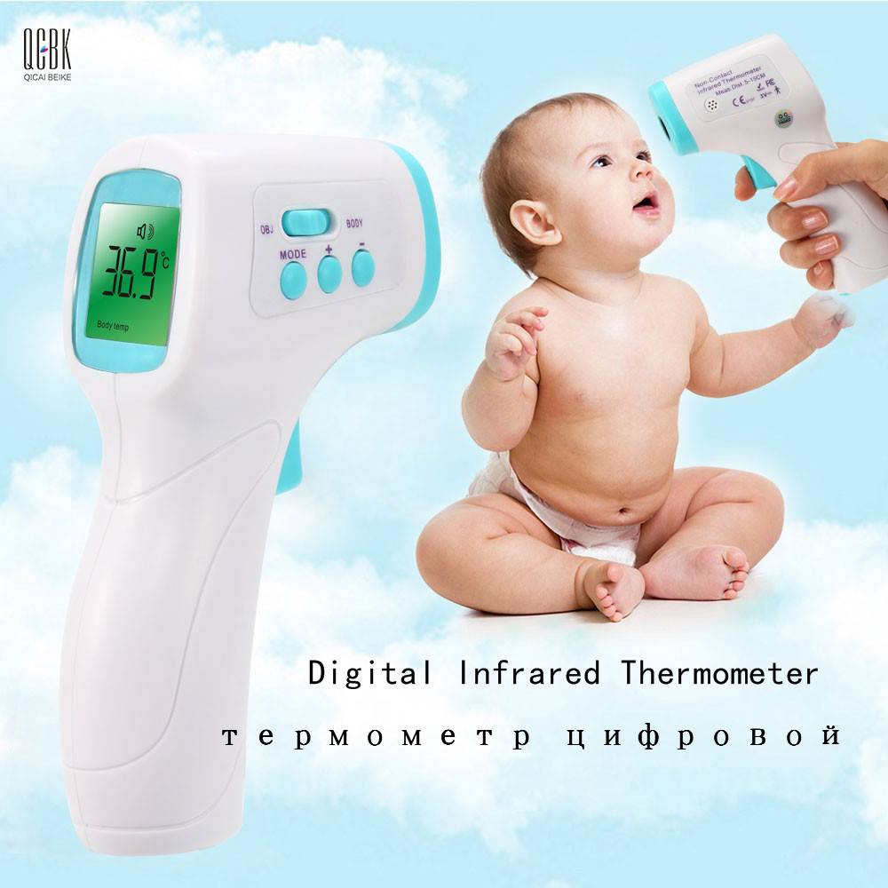 Adult Baby Digital Infrared Thermometer Forehead Ears Body Termomete Gun Non contact Termometro Infantil Diagnostic tool