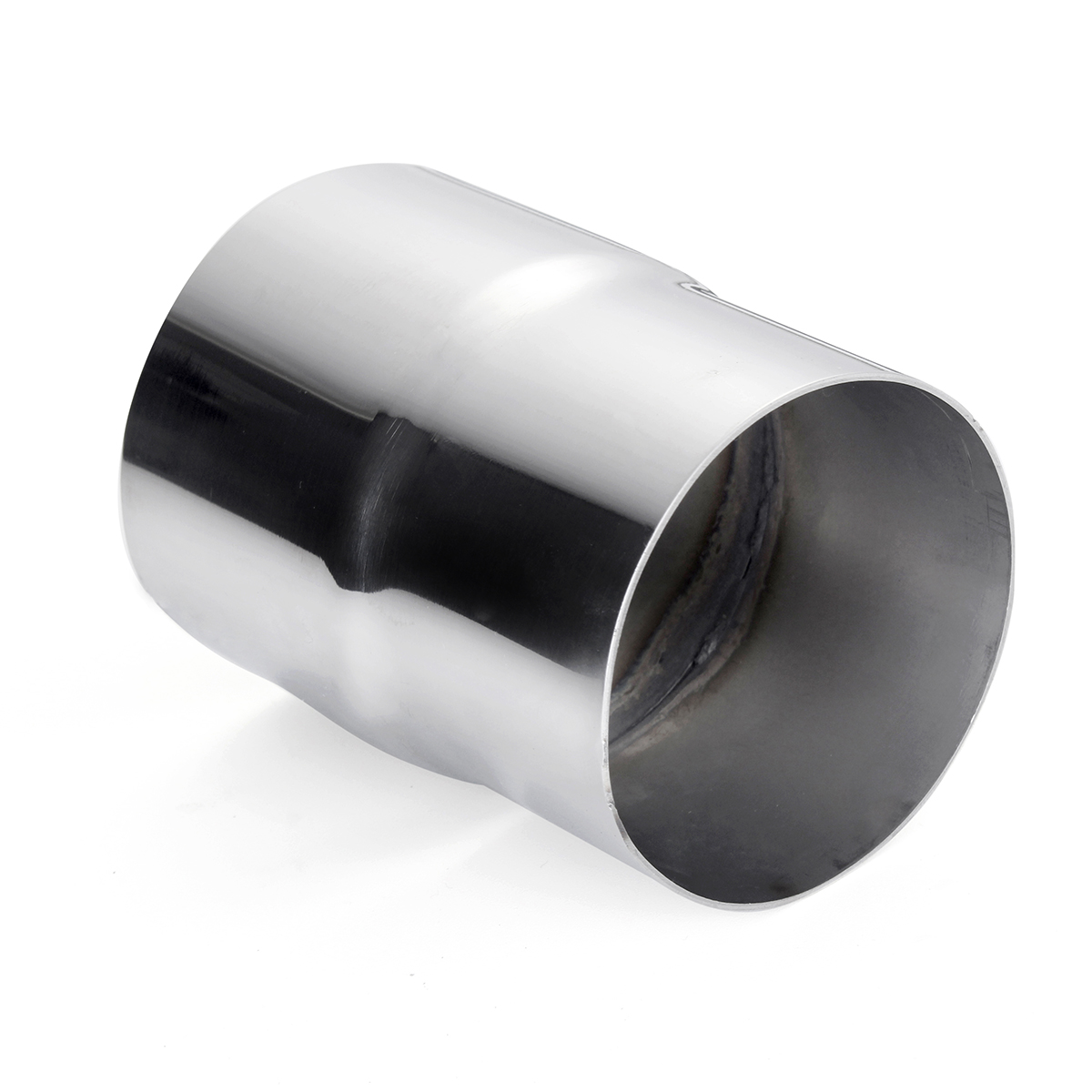 """2 3//4/"""" 2.75/"""" ID to 3/"""" OD Universal Exhaust Pipe to Component Adapter Reducer"""