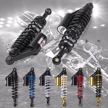 лучшая цена Universal 320MM Motorcycle Rear air Shock Absorber For Honda Kawasaki Suzuki ktm exc Yamaha Ducati BMW Harley Motor Scooter ATV