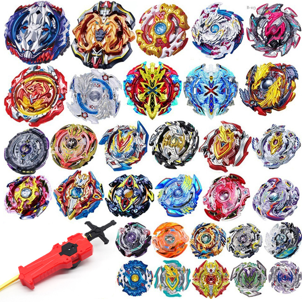 All Models B122 B00 B125 Launchers <font><b>Beyblade</b></font> Burst GT Toys Arena Metal God Fafnir Spinning Top Bey Blade Blades Toy image