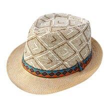 LNPBD хит Летняя женская мужская соломенная шляпа от солнца элегантная королевская Хомбург Шляпа джентльмена пляжная шляпа Панама шляпа