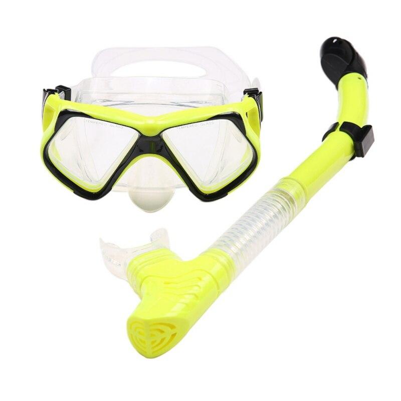 815c1d6bf Compre 2018 Mergulho Máscara Snorkeling Set Líquido Silicone ...