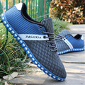2017 New Breathable  Men Summer Shoes Comfortable  Casual Shoes Net Walking shoes Plus Size 39-46  Flats shoes zapatos hombre