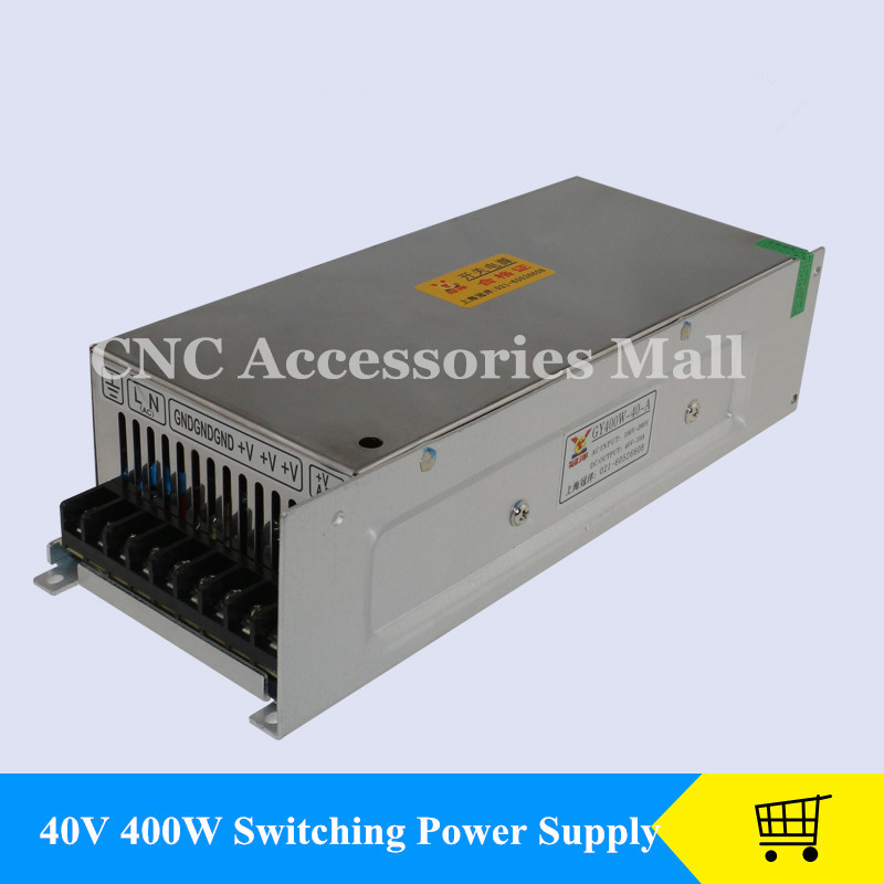 цена CNC Router Switching Power Supply 400W 40V 10A DC industrial power for CNC engraving machine