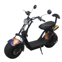 Harley electric car front and rear shock absorber wide tire A directly charged in the car