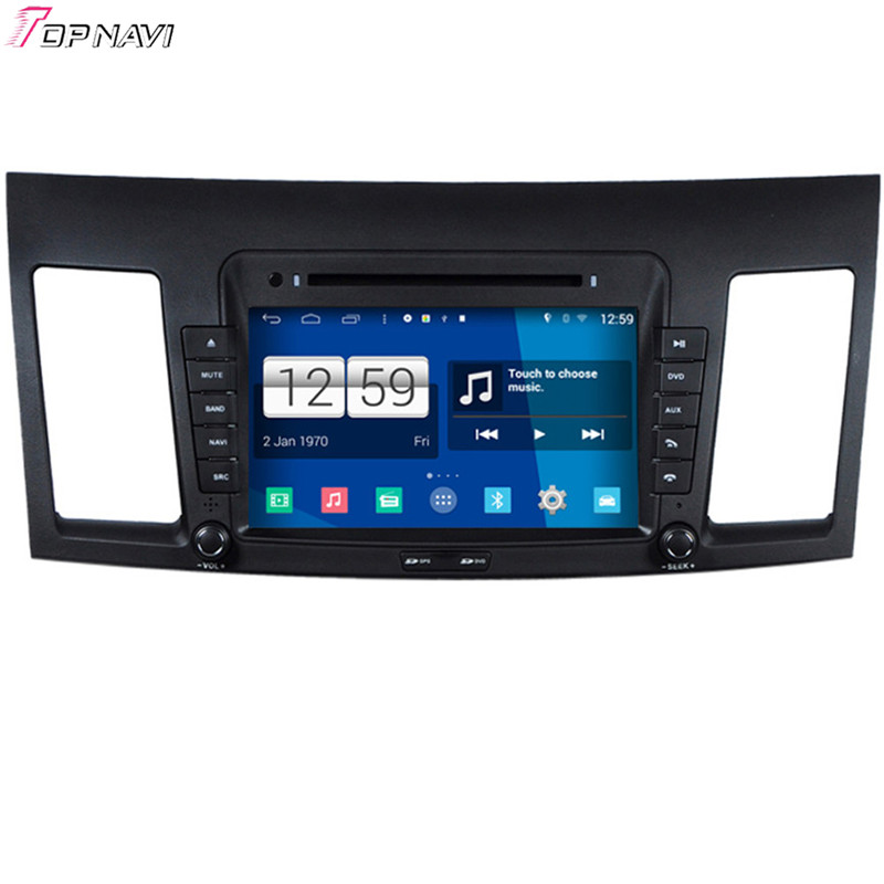 8'' Winca Quad Core S160 Android 4.4 Car DVD GPS For Mitsubishi Lancer With Wifi BT Stereo Radio Mirror Link Free Shipping