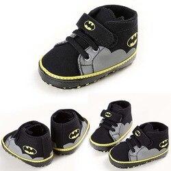 ROMIRUS Mode Baby Schuhe Jungen Mädchen Kleinkind Cartoon Batman Leinwand Kinder Schuhe Casual Turnschuhe Krippe Babe Erste Wanderer 0- 1 T