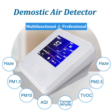 LED screen Domestic formaldehyde laser PM2.5 detction haze Meter professional air quality test instrument multi-function detcter