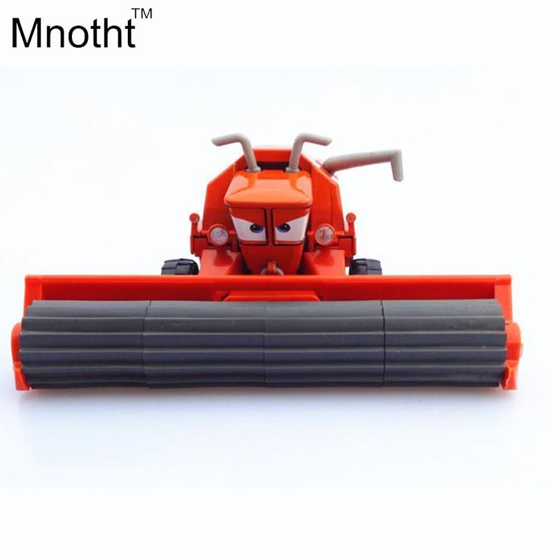 1 55 Pixar Cars Diecast Frank Metal Toy Car For Children Harvesters Machine Diecast Models General