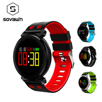K2 Smart Watch Waterproof IP68 Relogio Bluetooth Heart Rate Pressure Blood Oxygen OLED Fitness Bracelet Smartwatches for Android