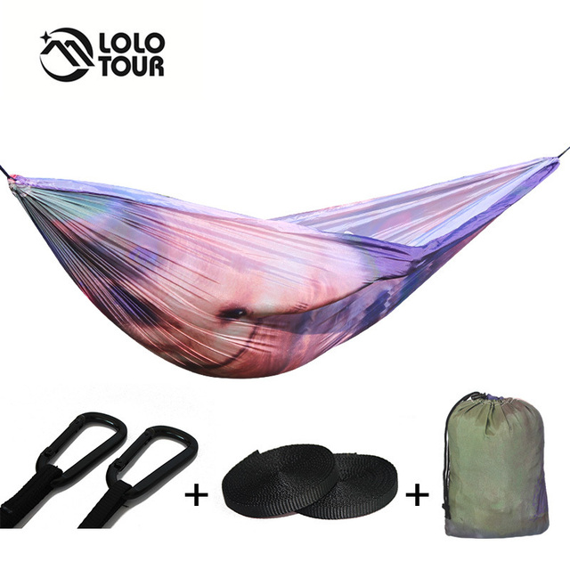 Unquie Parachute Hamac Tente Rede Hamaca Camping Fauteuil Suspendu
