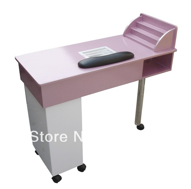 Simple design nail table with fan high quality color is optional   110V, US plug        Model: E029