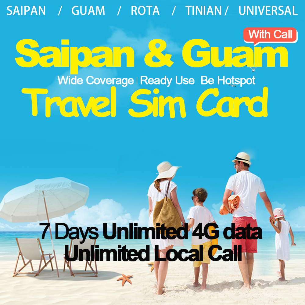 Mewfi IT&E Prepaid Saipan Guam Travel Sim Card 7 Days Unlimited 4G Date+Unlimited Local Call Native Triple Mobile phone Sim CardMewfi IT&E Prepaid Saipan Guam Travel Sim Card 7 Days Unlimited 4G Date+Unlimited Local Call Native Triple Mobile phone Sim Card