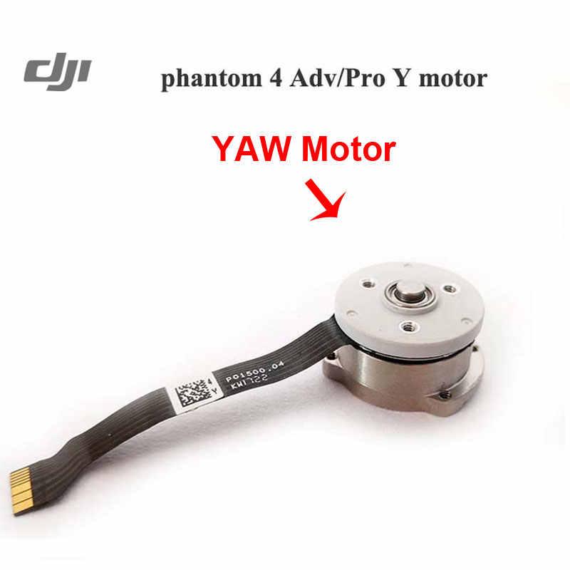 Оригинальный Phantom Gimbal двигатель запчасти карданный камеры рулон/шаг/Yaw двигатель крепление для DJI Phantom 4 AdvPro Advance аксессуары