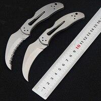 NOVA VENDA faca Dobrável CPM-S30v lâmina All Steel Handle tático engrenagem cheia ao ar livre Multitool Camping survival Faca de Bolso Mini