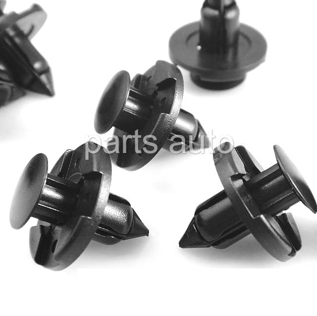 10X Screw Type Nylon Clip Retainer For GM Mazda 9926-50-625 Toyota 9046706017