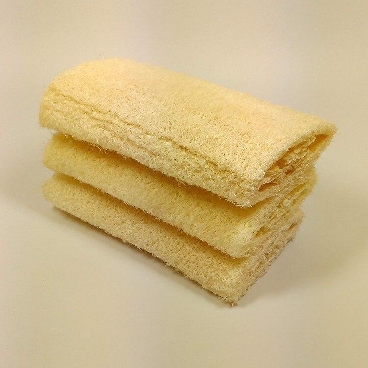 natural loofah spugna da bagno accessori per il bagno bagno di luffa spugna spa piatto leeco
