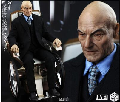 1:6 scale Super flexible male figure 12 action figure doll Collectible Model toy X-Men: Apocalypse old Professor 1 6 scale model metal gear solid v the phantom d dog diamond dog about 23cm collectible figure model toy gift