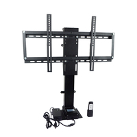 900mm 700N 30'' to 60'' Electric Motorized TV Lift Mount Bracket & Remote Control