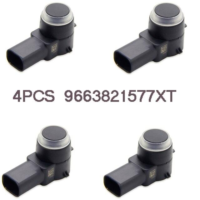 4pcs High Quality Auto Replacement Parts Parking Sensor 9663821577XT Fit For Peugeot 308  307 2003-2014