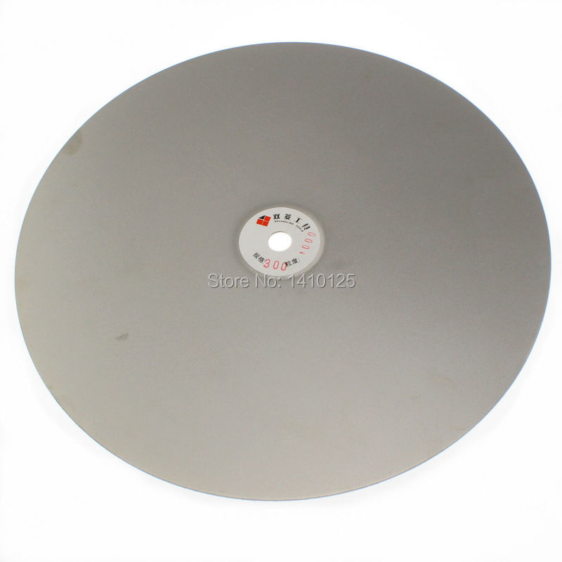 14 inch 350mm Grit 1000 Fine Electroplated Diamond coated Flat Lap Disk Grinding Disc Wheels for Jewelry Tools Glass Rock Tile v groove electroplated diamond grinding wheel for tungsten carbide stone agate megmatic material grinding e014